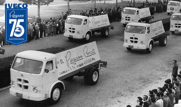 IVECO świętuje 75 lecie historycznej marki Pegaso